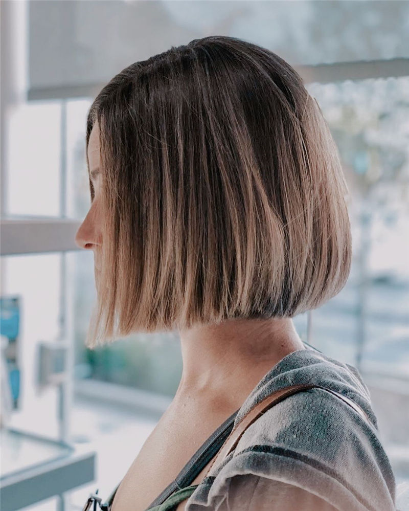 Trendy Bob Haircuts for Women Who Have A Good Taste-21