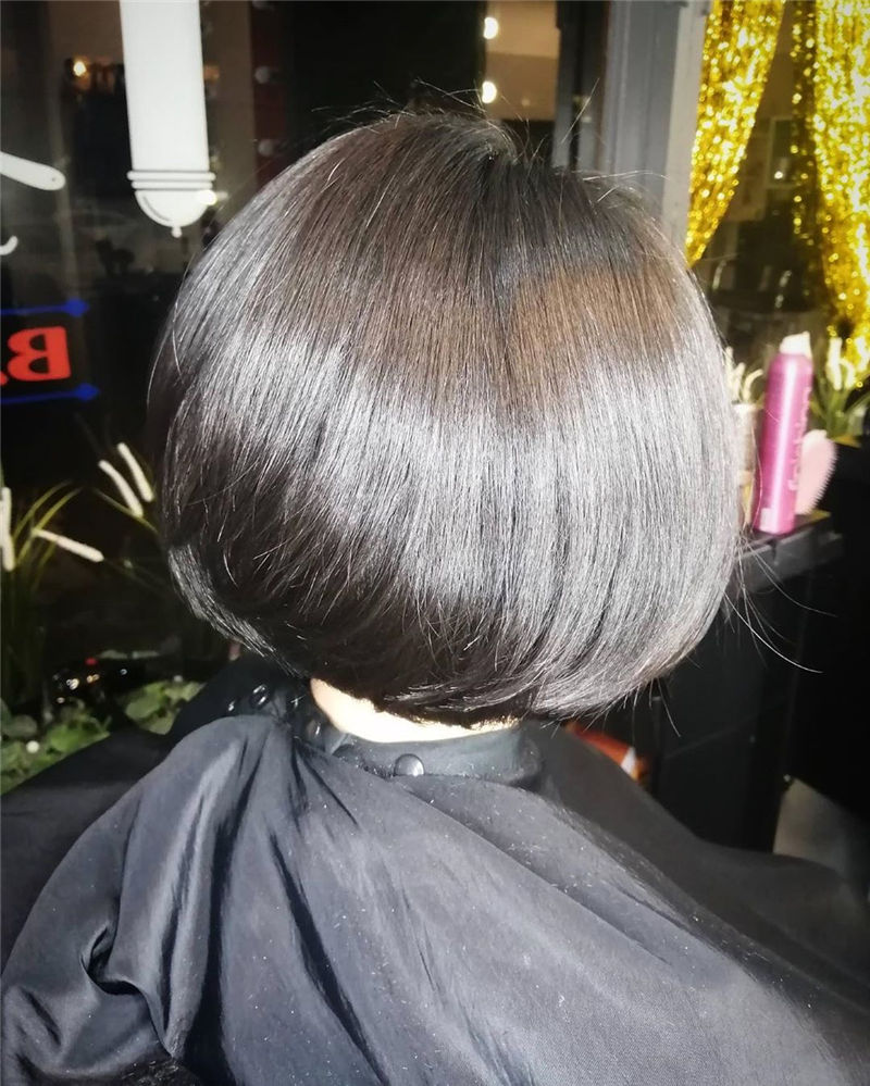 Trendy Bob Haircuts for Women Who Have A Good Taste-24