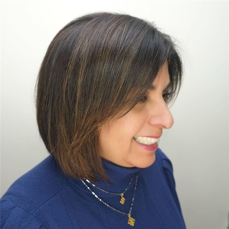 Trendy Bob Haircuts for Women Who Have A Good Taste-25