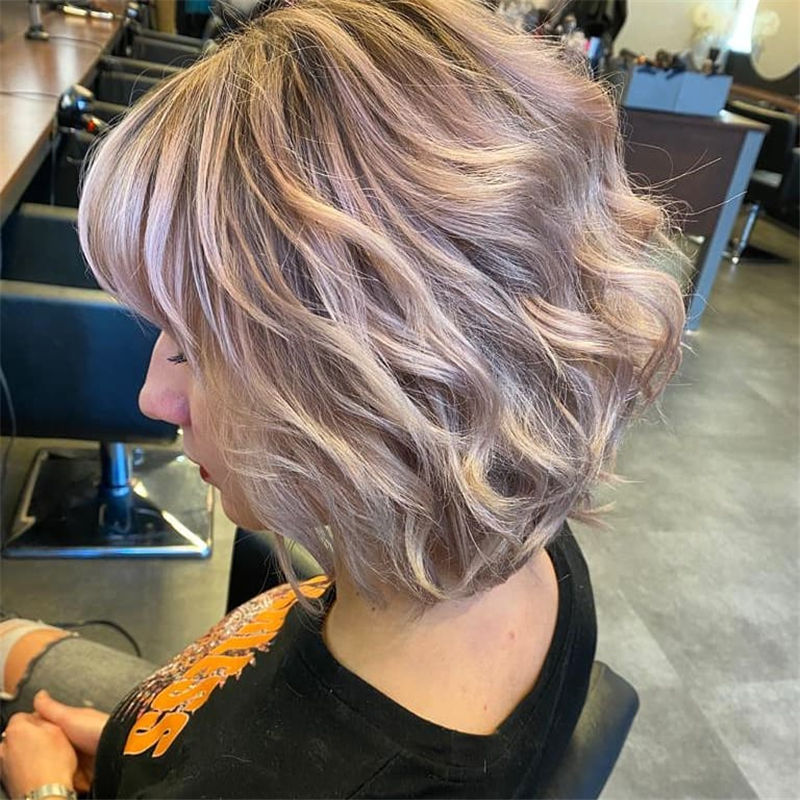 Trendy Bob Haircuts for Women Who Have A Good Taste-26