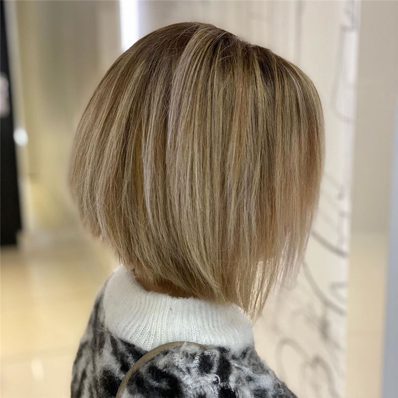 Trendy Bob Haircuts for Women Who Have A Good Taste-31