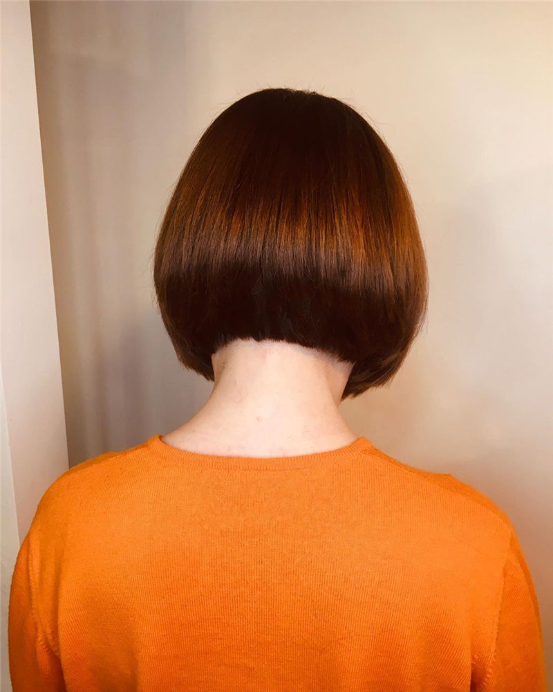 Trendy Bob Haircuts for Women Who Have A Good Taste-32