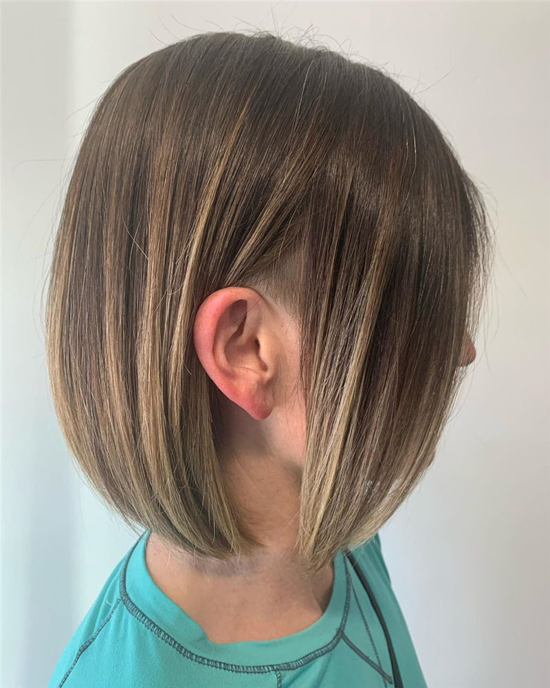 Trendy Bob Haircuts for Women Who Have A Good Taste-33