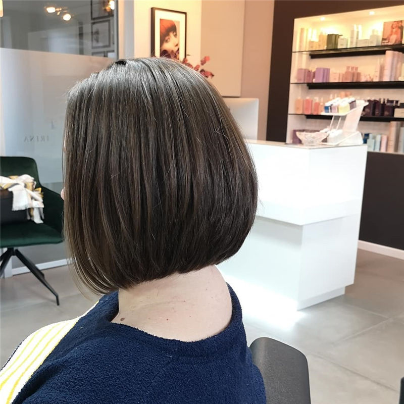 Trendy Bob Haircuts for Women Who Have A Good Taste-37