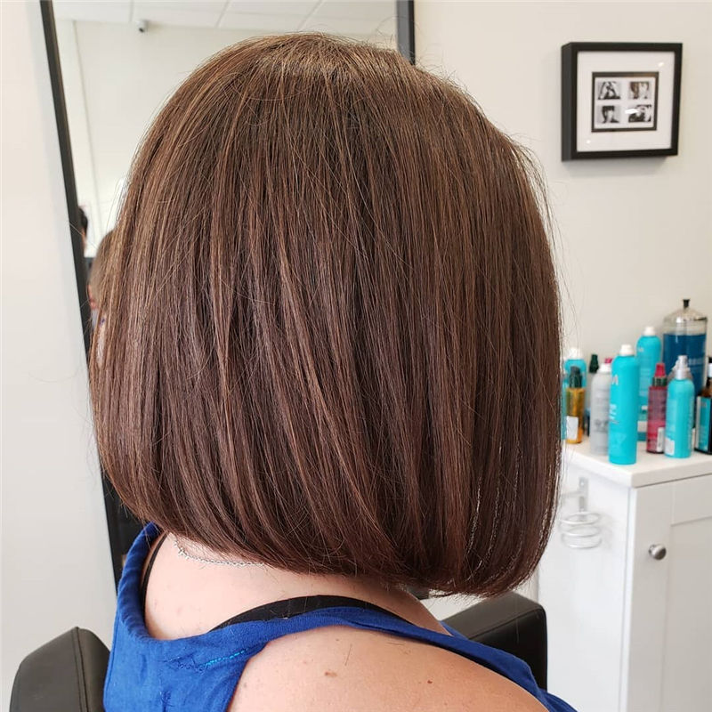 Trendy Bob Haircuts for Women Who Have A Good Taste-38