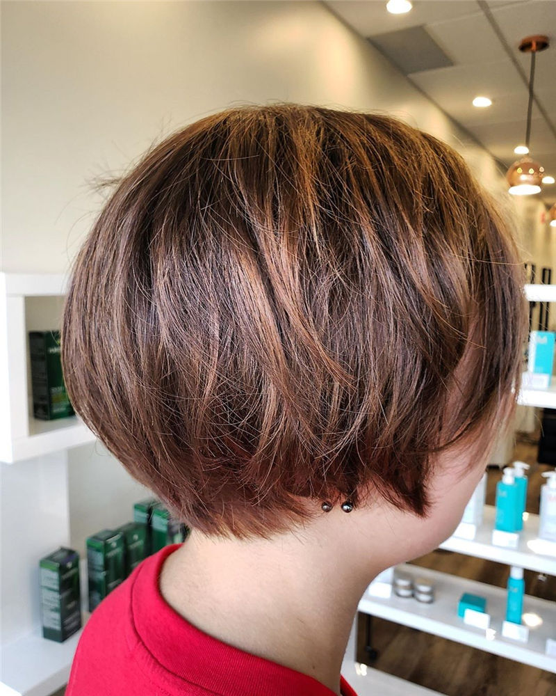Trendy Bob Haircuts for Women Who Have A Good Taste-39