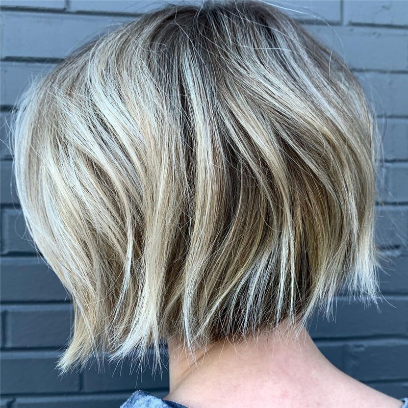 Trendy Bob Haircuts for Women Who Have A Good Taste-43