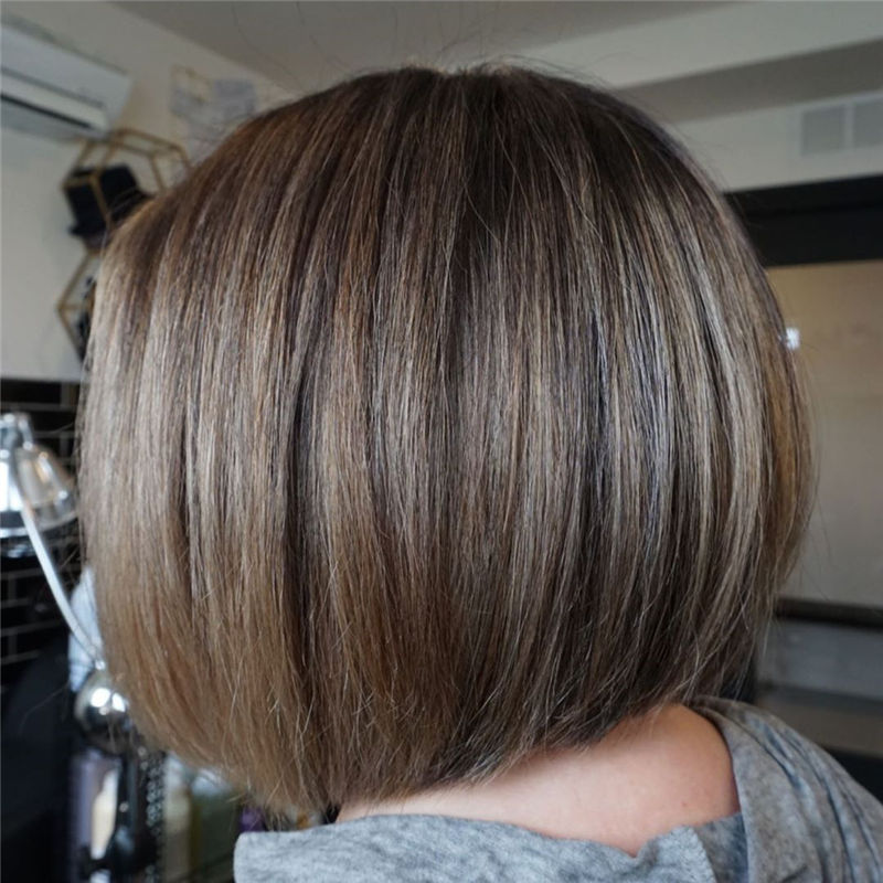 Trendy Bob Haircuts for Women Who Have A Good Taste-44
