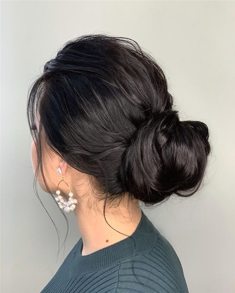 Unique Textured Updo Hairstyles For 2020 Find Your Look 01