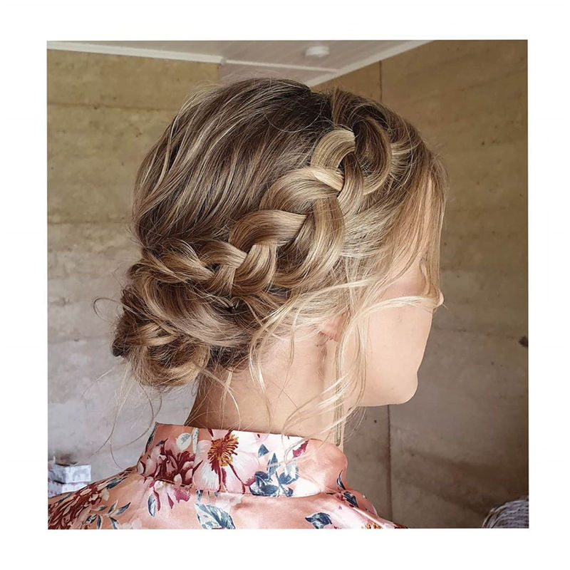 Unique Textured Updo Hairstyles For 2020 Find Your Look 02