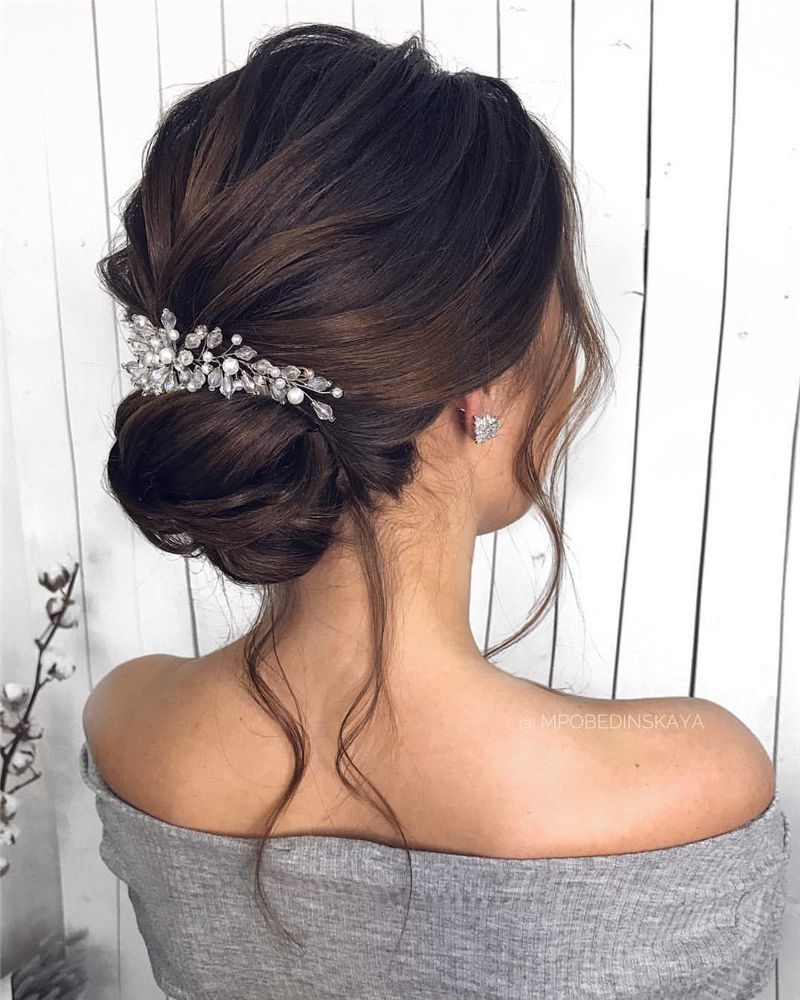 Unique Textured Updo Hairstyles For 2020 Find Your Look 26