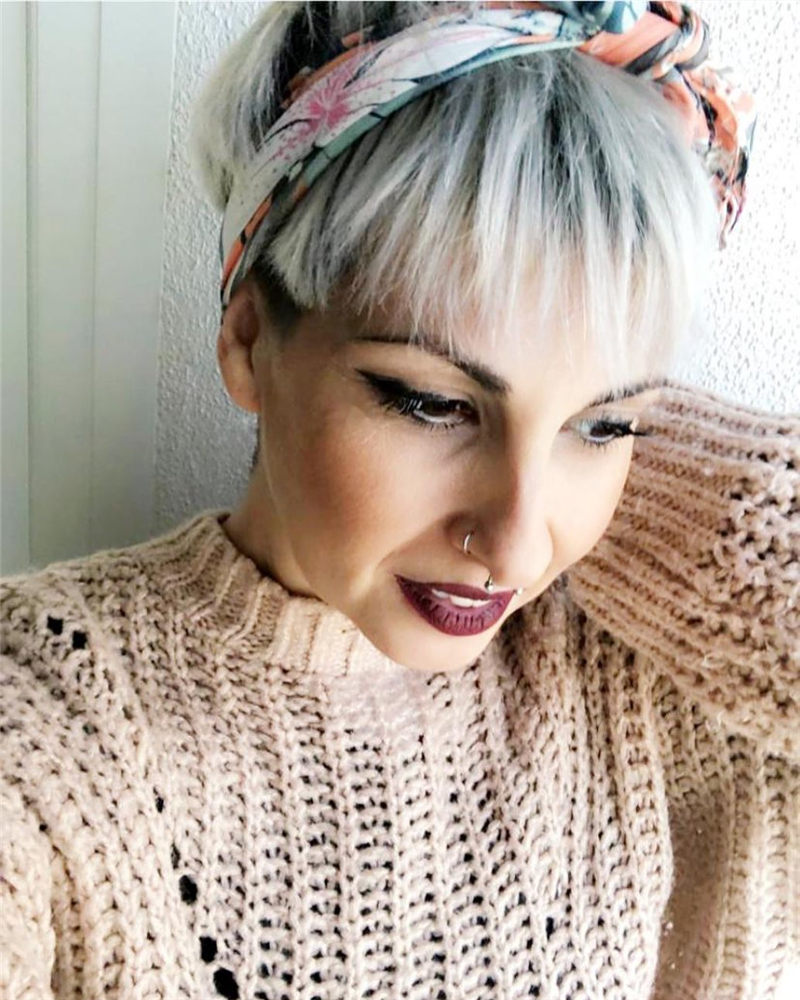 Amazing Short Pixie Cuts to Copy This Year 01