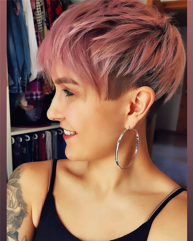 Chic and Sexy Pixie Haircuts That Youll Want To Get 22