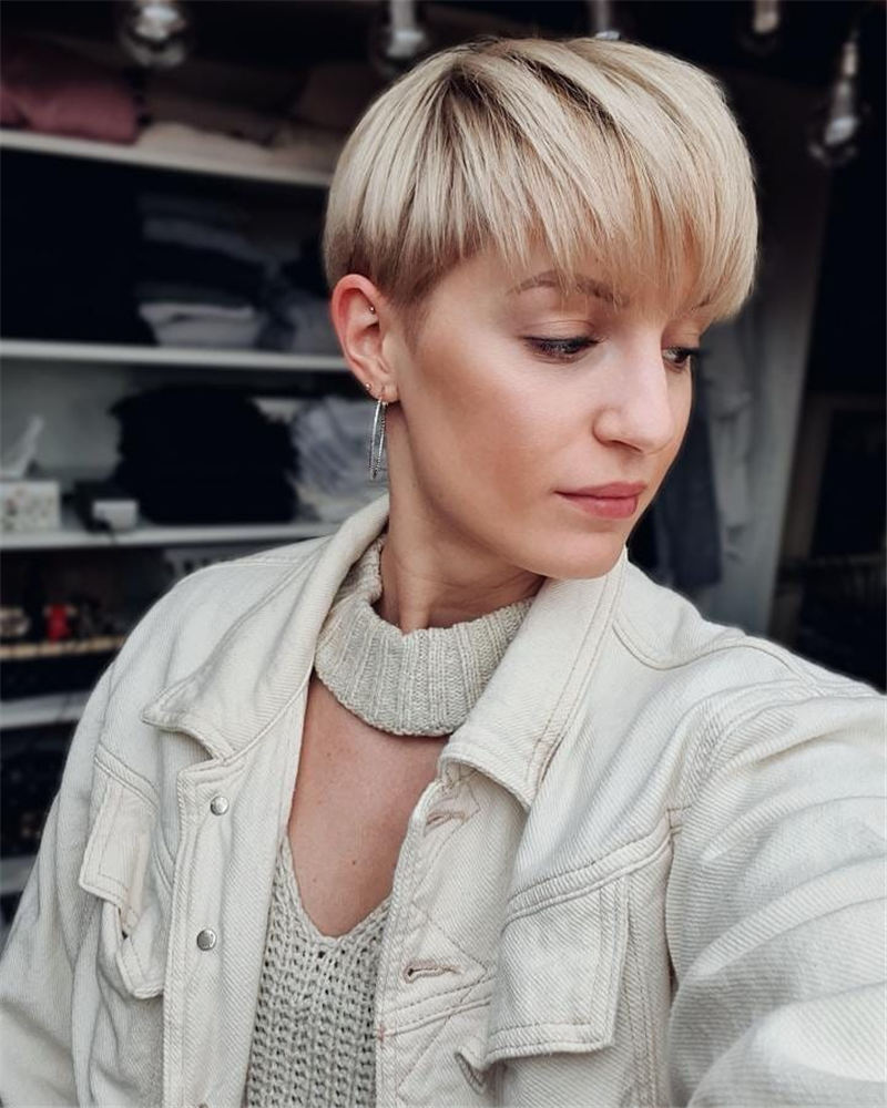 Chic and Sexy Pixie Haircuts That Youll Want To Get 27