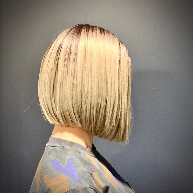 Cute Bob Hairstyles For 2020 to Refresh Your Style 01