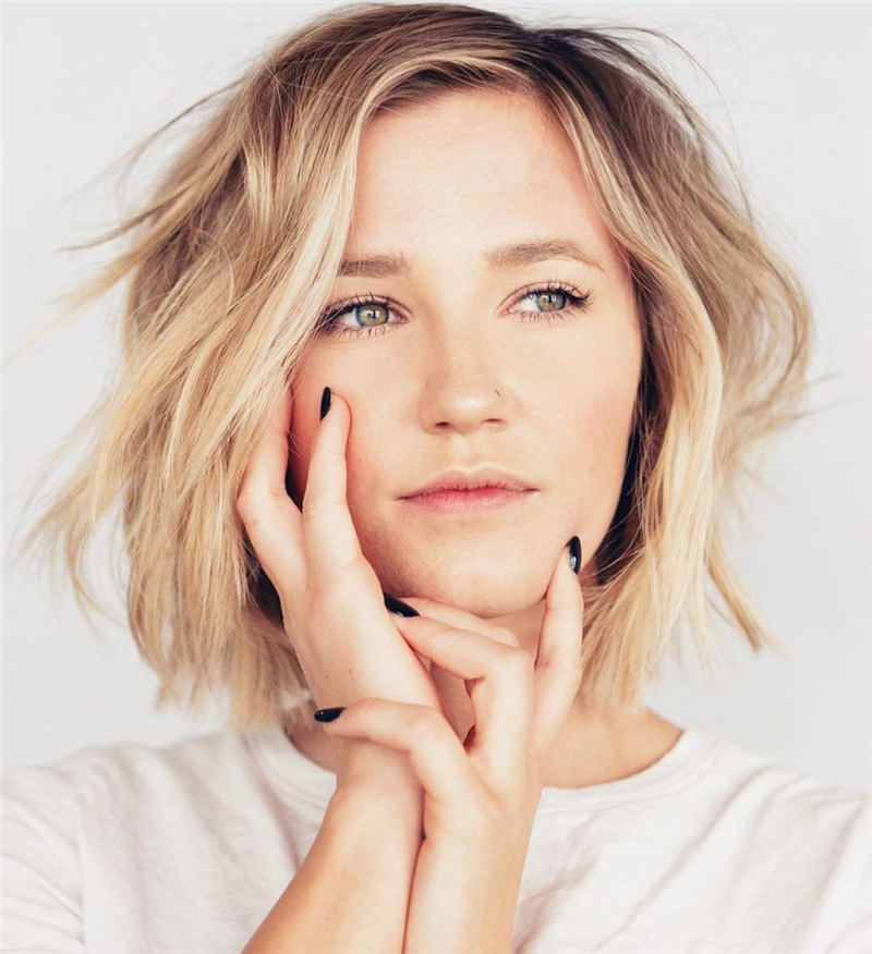 Cute Bob Hairstyles For 2020 to Refresh Your Style 02