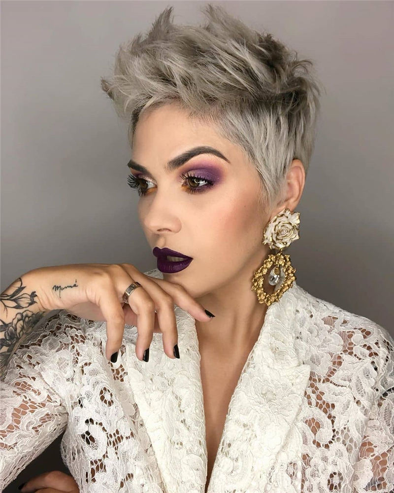 Latest Modern Pixie Haircuts That Are Simply Gorgeous 38