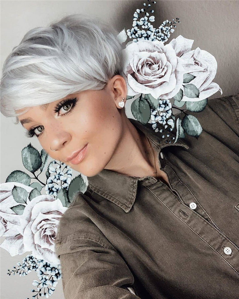 Modern Short Pixie Haircuts That Are Just Brilliant 33