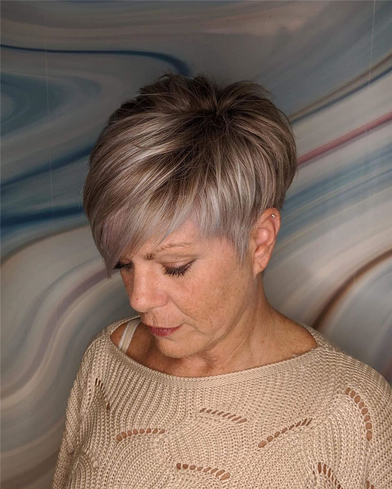 Modern Short Pixie Haircuts That Are Just Brilliant 43