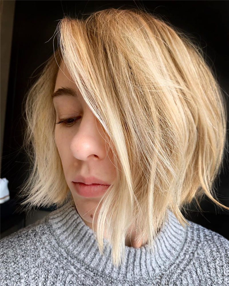 Popular Bob Hairstyles for Women 2020 36