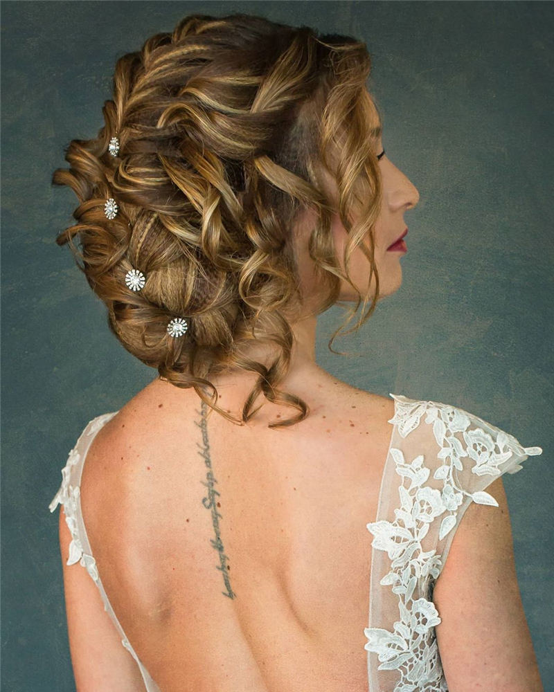 Stunning Wedding Hairstyles To Refresh Big Day Style 33