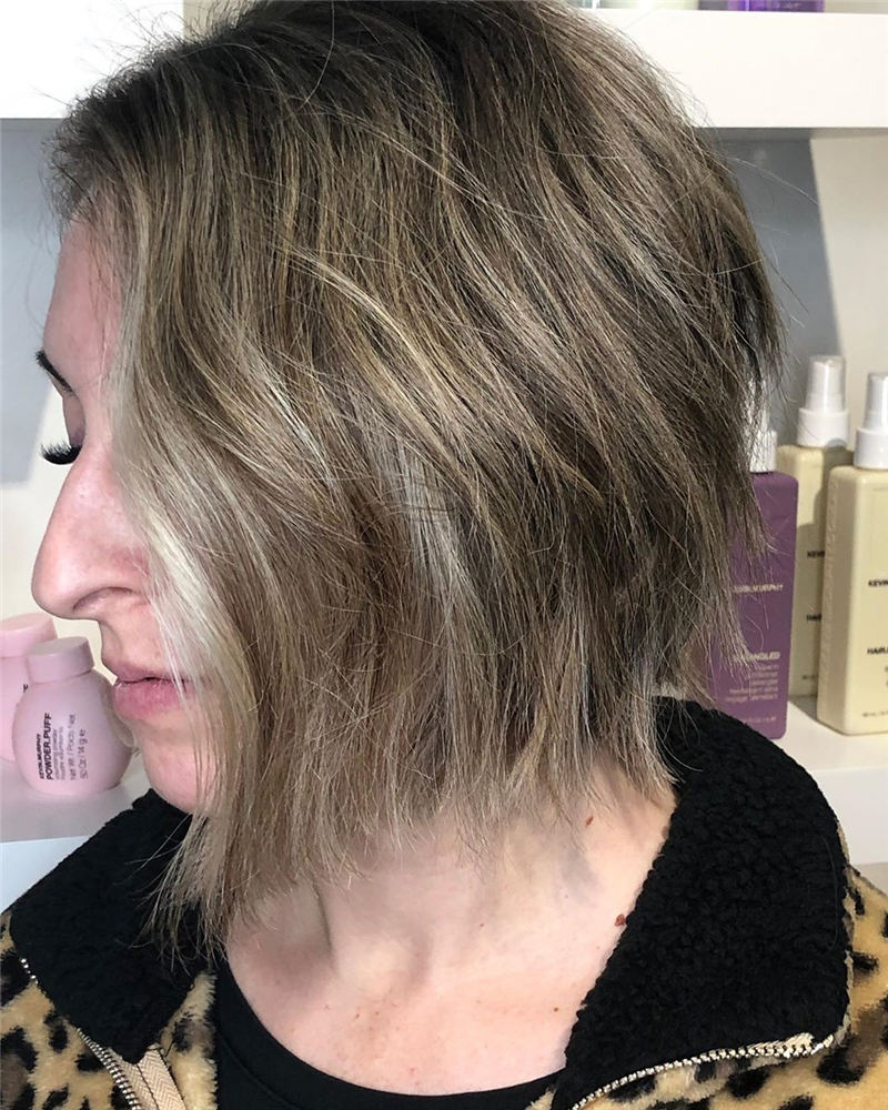 Trending Short Haircuts to Upgrade Your Style 2020 23