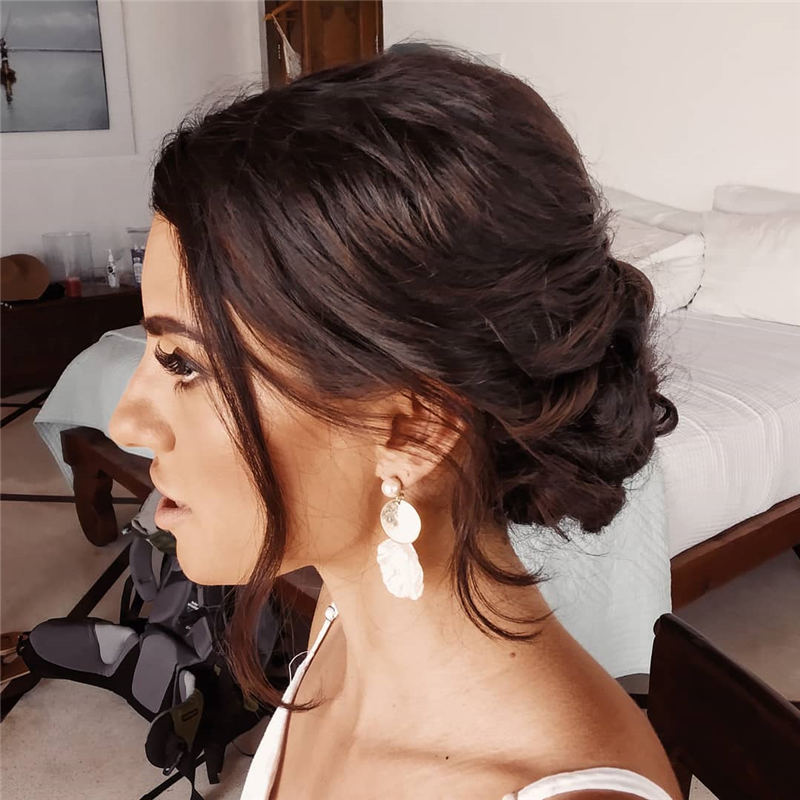 Easy Updo Hairstyles for Beginners 2020 02