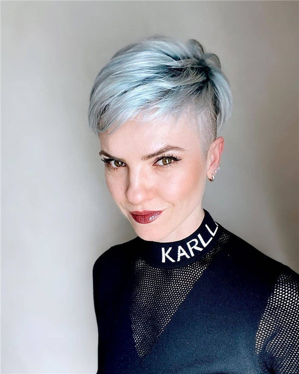 Most Eye Catching Short Pixie Haircuts to Upgrade Your Style 04