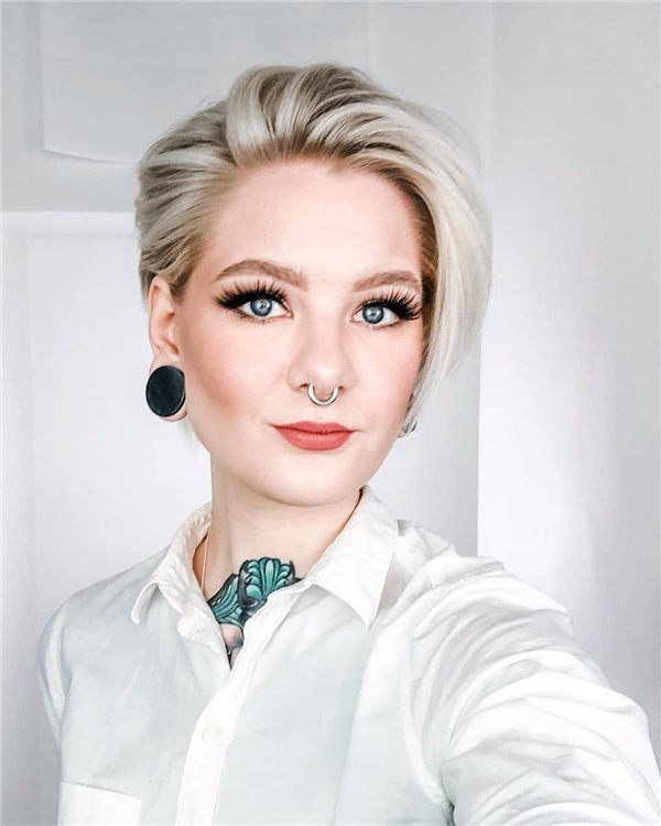 Most Eye Catching Short Pixie Haircuts to Upgrade Your Style 09