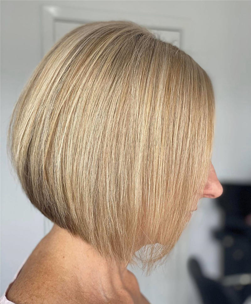 Pretty Easy Bob Haircut for Women You Have to Try 01