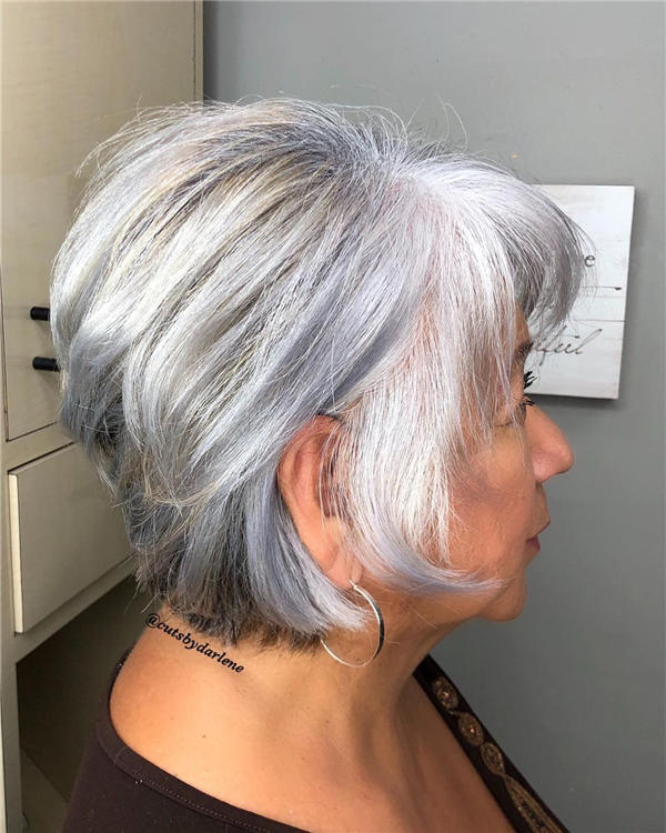 Best Short Gray Hair You'll Want to See 06