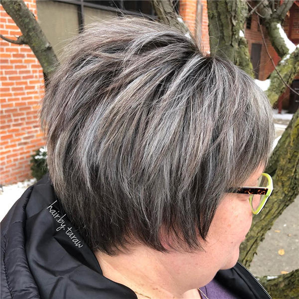 Best Short Gray Hair You'll Want to See 30