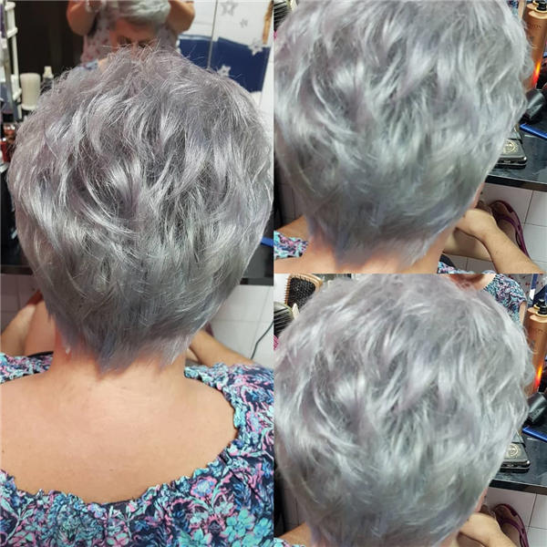 Best Short Gray Hair You'll Want to See 35