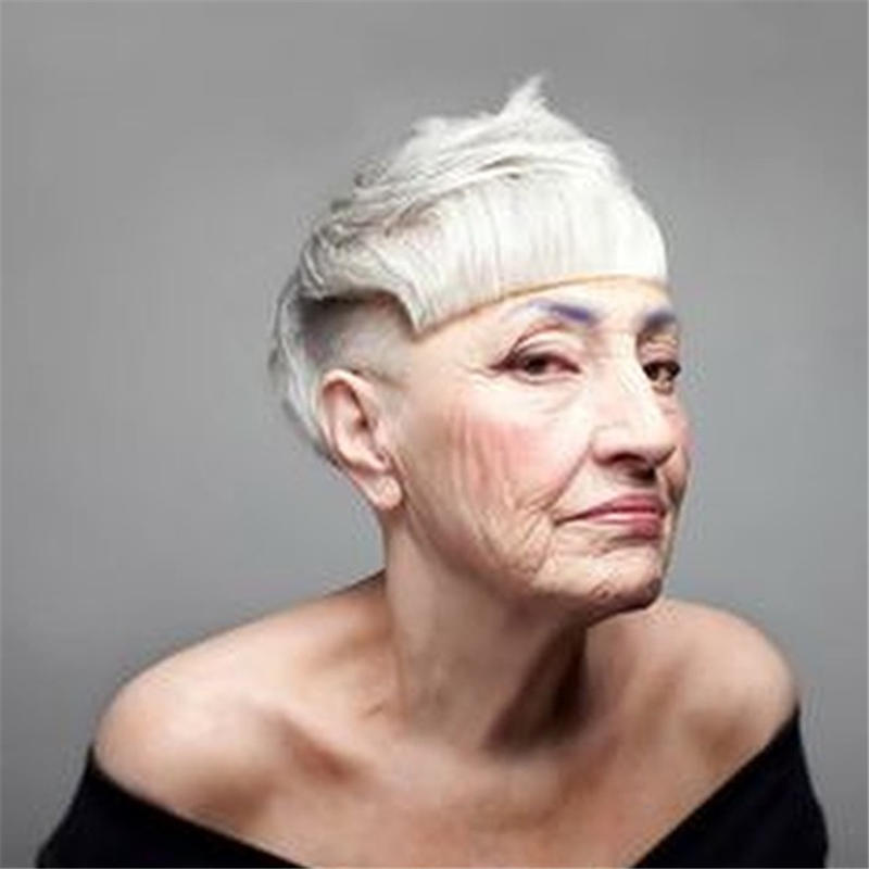 Classy and Simple Pixie Haircut for Older Ladies 09