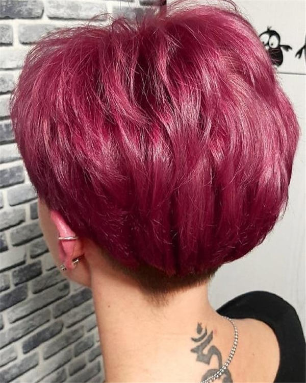 Cute Short Pixie Hairstyles That You Must Try 2020 39