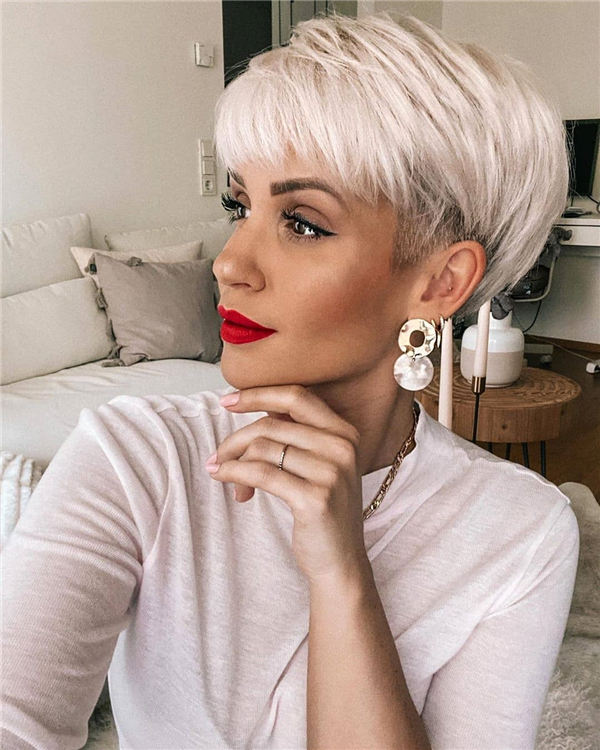 New Short Pixie Hairstyles You Cant Miss for 2020 55