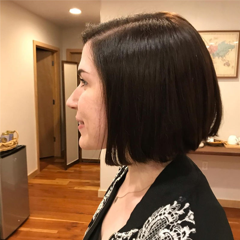 Best Chin Length Hairstyles You Cant Miss 2020 26