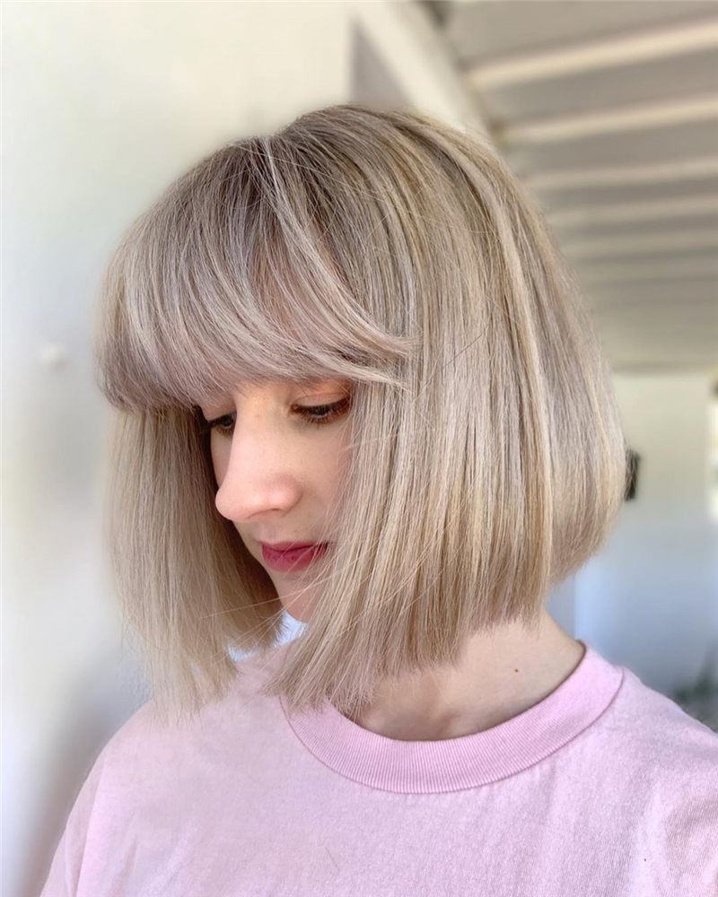 Best Chin Length Hairstyles You Cant Miss 2020 31