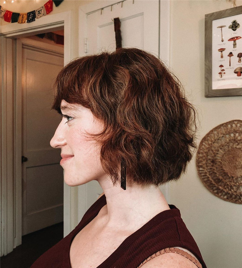 Best Chin Length Hairstyles You Cant Miss 2020 36