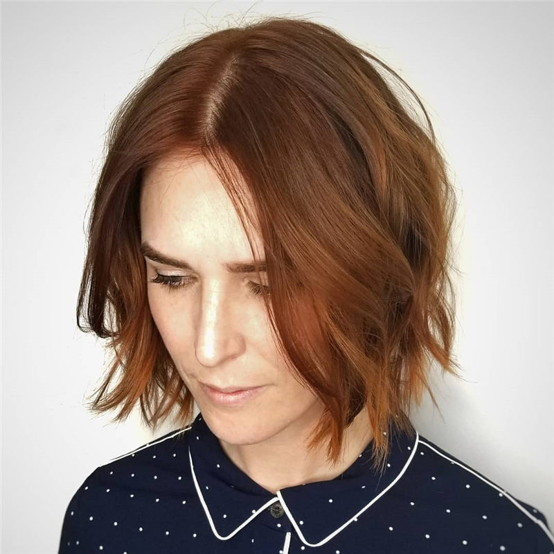 Best Chin Length Hairstyles You Cant Miss 2020 42