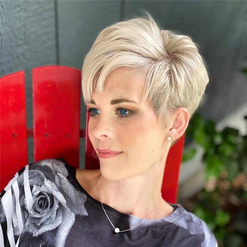 Best Short Blonde Hair Ideas to Look Gorgeous 02