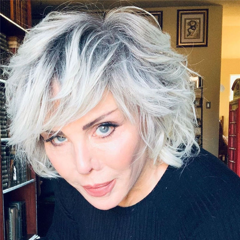 Cool Short Gray Hairstyles to Look Gorgeous 01
