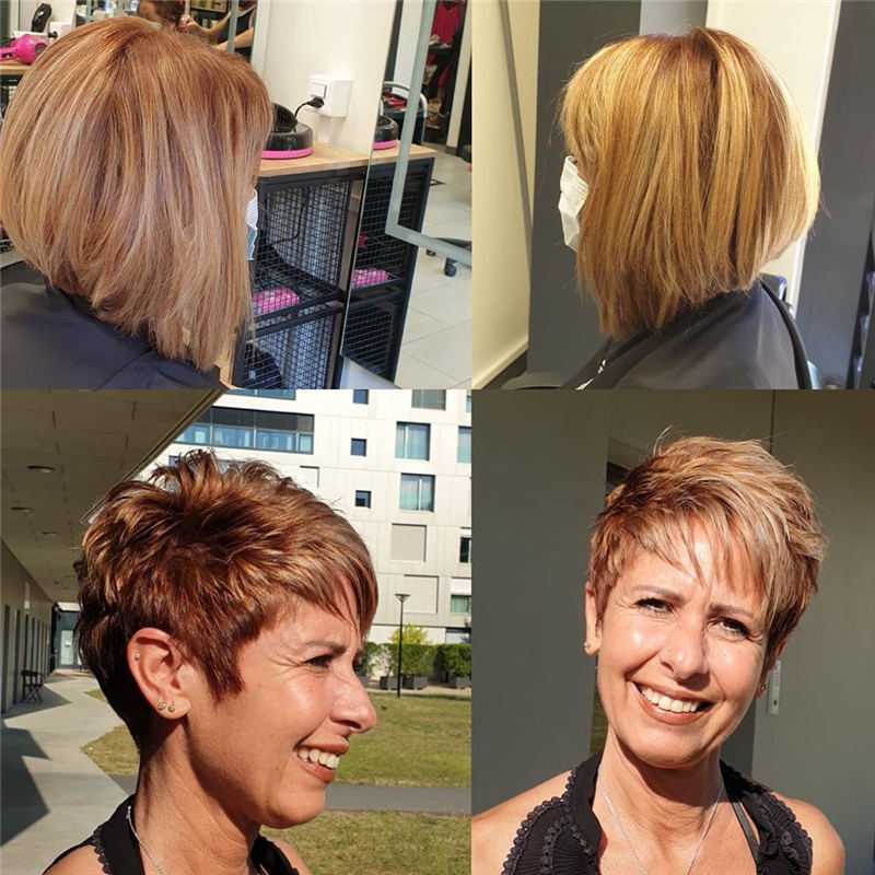 Newest Hair Cuts for Ladies 2020 14