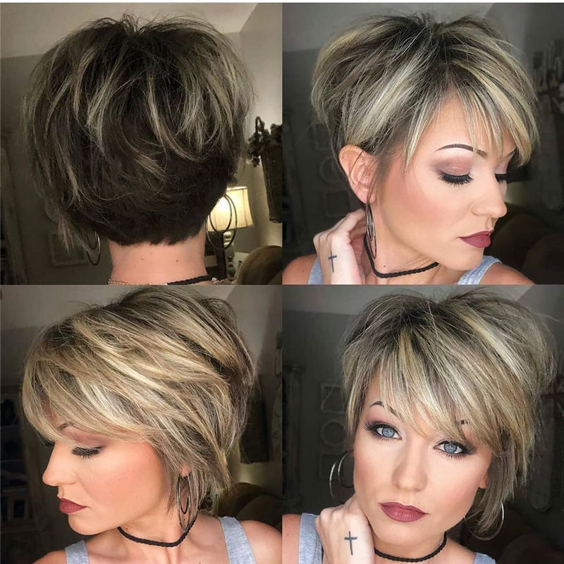 Newest Hair Cuts for Ladies 2020 19