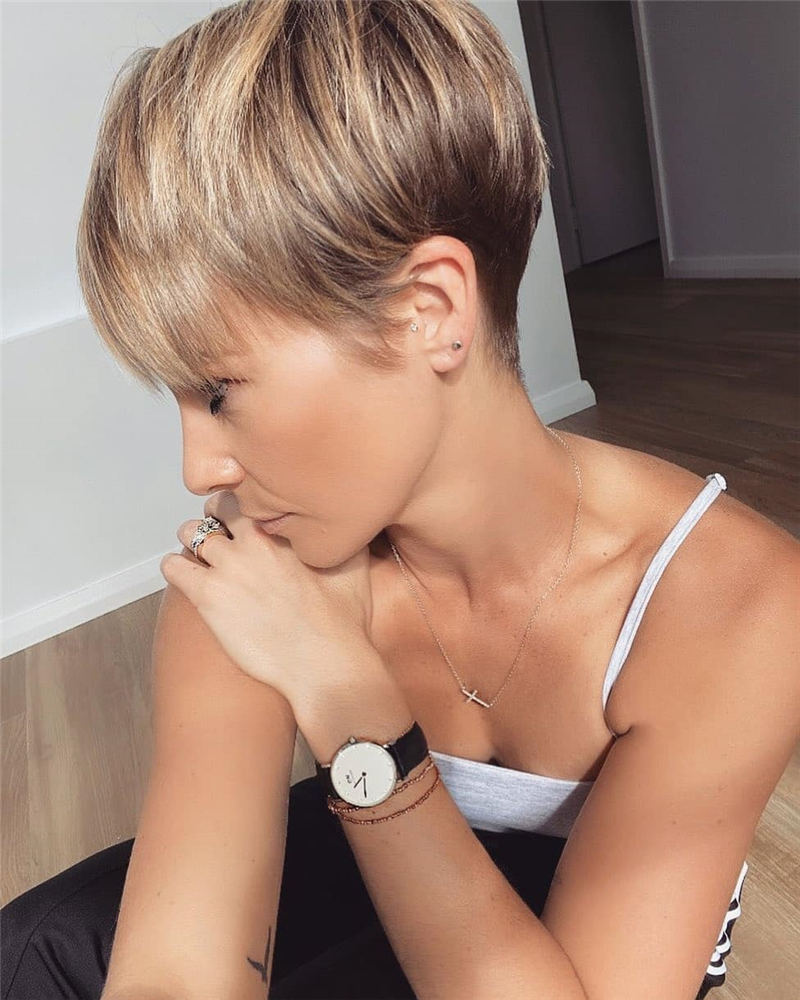 Top Short Pixie Cuts to Try for 2020 37