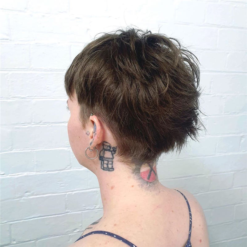 Choppy Pixie Cut To Boost Your Looks For 2020 03