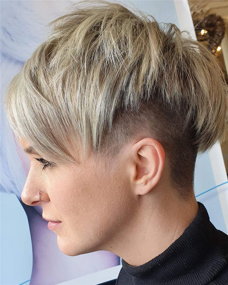 Choppy Pixie Cut To Boost Your Looks For 2020 04