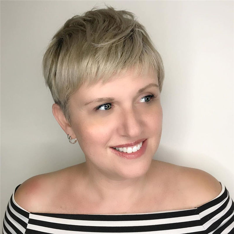 Choppy Pixie Cut To Boost Your Looks For 2020 05