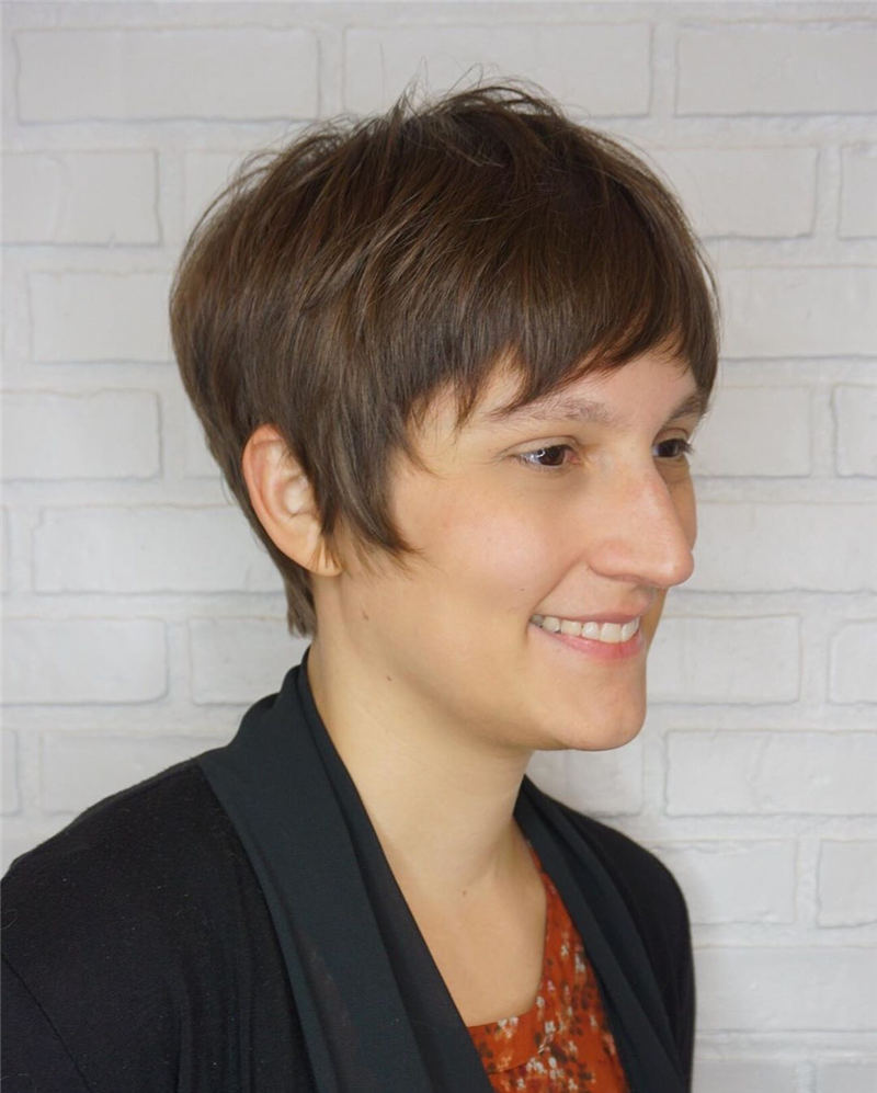 Choppy Pixie Cut To Boost Your Looks For 2020 06