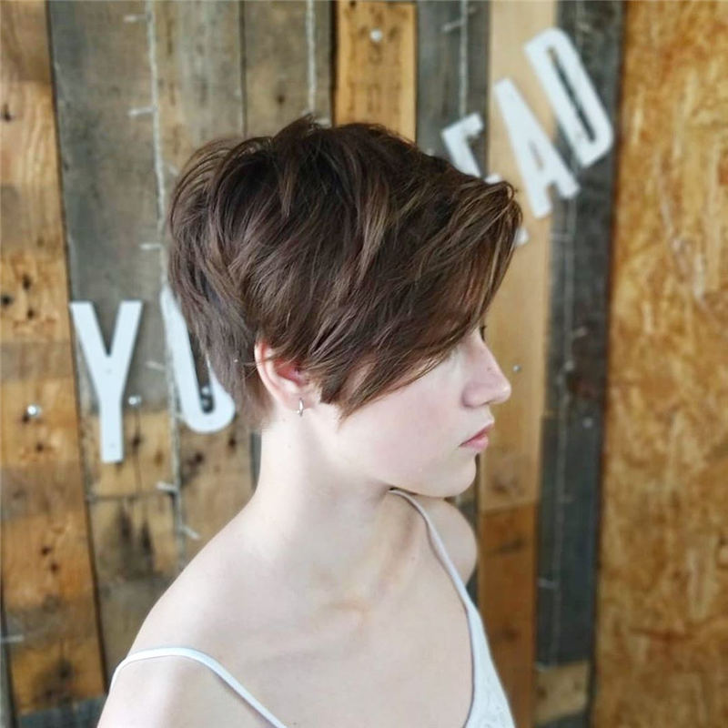 Choppy Pixie Cut To Boost Your Looks For 2020 15